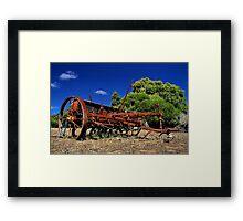"""""""A Trusty Old Farmhand"""" Framed Print"""