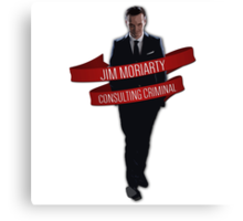 Moriarty - Consulting Criminal Canvas Print