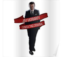 Moriarty - Consulting Criminal Poster