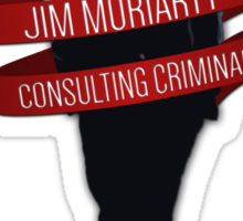 Moriarty - Consulting Criminal Sticker
