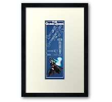 And You Thought a Cross Lightsaber was Ridiculous Framed Print