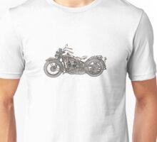 1930 Harley Davidson Motorcycle Unisex T-Shirt