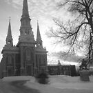Church of St. Georges, QC Canada by MrsBuden