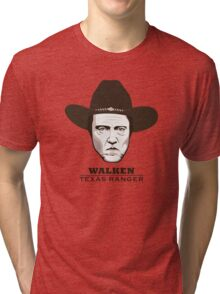 Christopher Walken - Walken, Texas Ranger Tri-blend T-Shirt