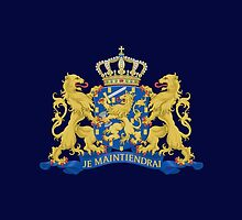 Coat of arms of the Netherlands by Jazyy
