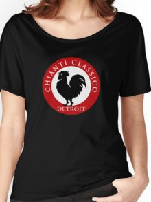 Black Rooster Detroit Chianti Classico Women's Relaxed Fit T-Shirt