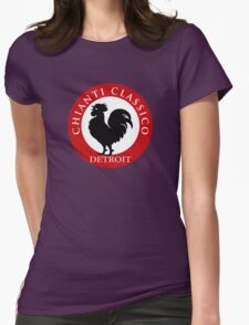 Black Rooster Detroit Chianti Classico Womens Fitted T-Shirt