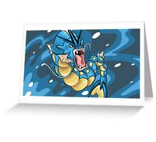 GYRADOS CUP Greeting Card