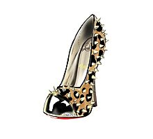 Spike me heels Photographic Print