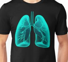X-ray Vision Lungs Unisex T-Shirt
