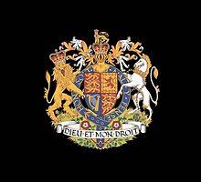 English Coat of Arms by Jazyy