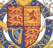 English Coat of Arms Sticker
