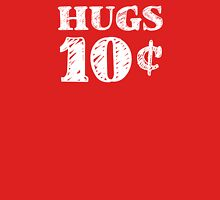 Valentine's Day Hugs 10 Cents Womens Fitted T-Shirt