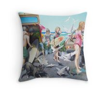 Shark Biscuits Throw Pillow