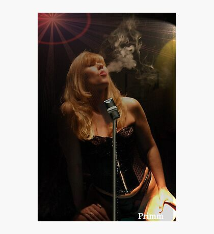 Torch song Photographic Print