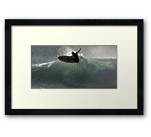 Surfing Culburra Beach #1 Framed Print