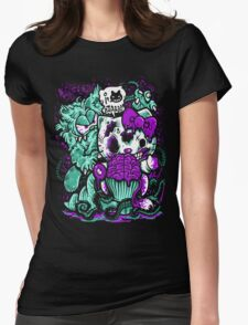 grudgefield x zombie kitty Womens Fitted T-Shirt