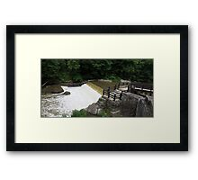 HDR Composite - At the Mill on the Dam Framed Print