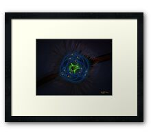 Going Nuclear Framed Print