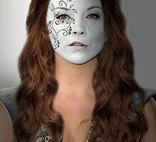 Margaery Tyrell House Flower War Paint by HilaryHeffron