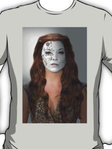 Margaery Tyrell House Flower War Paint T-Shirt