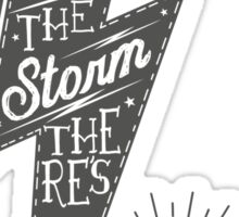 Riders of the storm Sticker