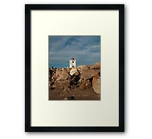 Lighthouse landscape photography Framed Print