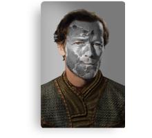 Jorah Mormont House Bear War Paint Canvas Print