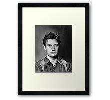 malcolm reynolds Framed Print