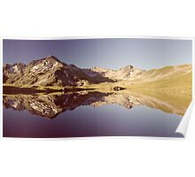 Lake Angelus Reflections Poster