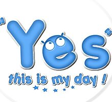 Yesthisismyday Blue Logo by Beo Lo