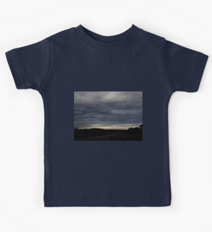 HDR Composite - Blue Sunset Looms Kids Tee