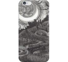 Moonlit Village iPhone Case/Skin