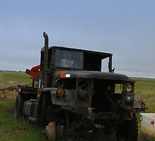 World War 2 Rustic Truck by Chris Popa