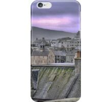 More Rooftops Over Lerwick iPhone Case/Skin