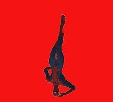 spiderman just hangin' by LokiLaufeysen