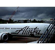Alaska Airlines Photographic Print