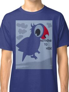 Nothing To Hide! - Bird T-Shirt - NZ Classic T-Shirt