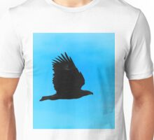 Eagle Silhouette in Flight - Profile of Power Unisex T-Shirt