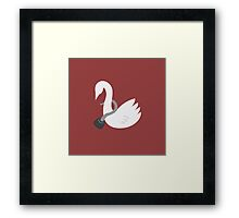 Captain Swan Framed Print