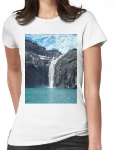 Water From Ice Womens Fitted T-Shirt