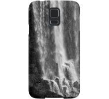 Iguazu Falls - The Long Drop - in Monochrome Samsung Galaxy Case/Skin