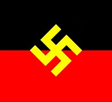 Aboriginal Right Flag by ArchieMoore