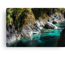 Turquoise Waters Canvas Print
