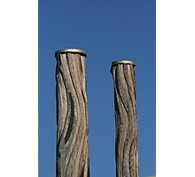 Newcastle Baths Poles Photographic Print