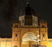 Exhibition Building, Melbourne by DavidsArt