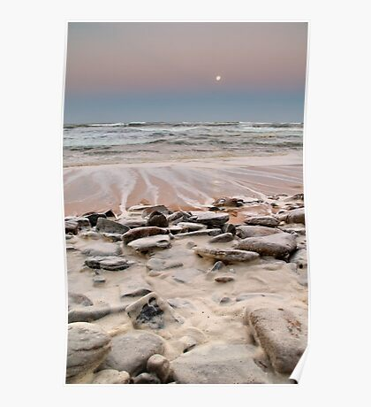 Froth Rocks Poster