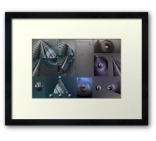 Ancient Languages of Astrological Alignments Framed Print