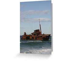 Signa Wreck Greeting Card