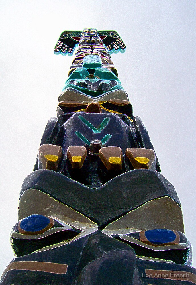 Totem Pole by Lee Anne French